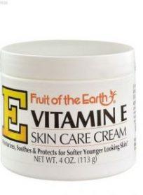 کرم نرم کننده ویتامین E