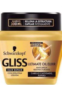 ماسک احیا کننده مو طلایی گلیس